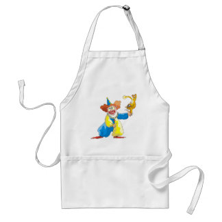 Clown and Cat Apron
