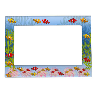 Clown Anemone Fish Reef Magnetic Frame