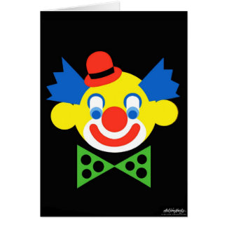 Clown - Art Gallery Selection Card