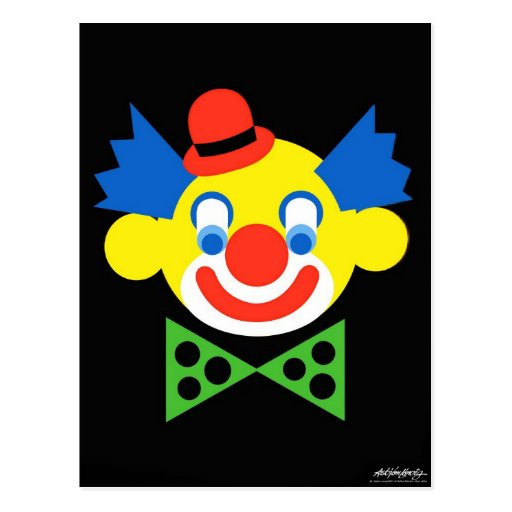 Clown - Art Gallery Selection Postcard