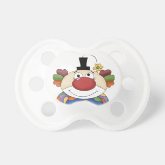Clown Baby Pacifier