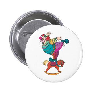 Clown Balanced on a Rocking Horse Pins