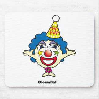 Clown Ball Mouse Pad