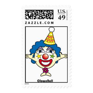 Clown Ball stamp