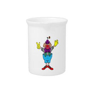 Clown Beverage Pitcher
