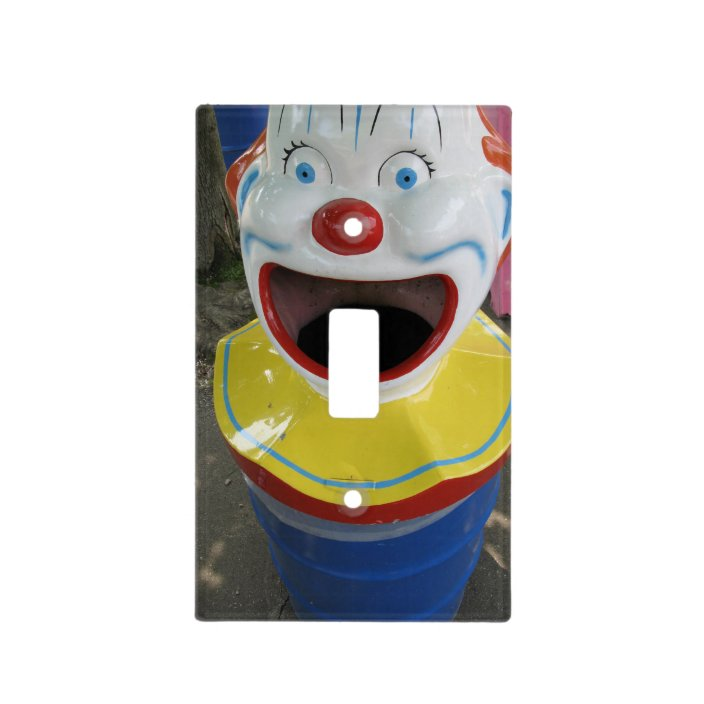Clown Bin Light Switch Cover Zazzle Com