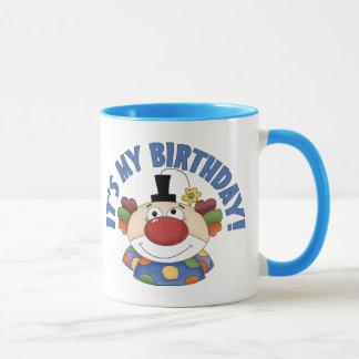 Clown Birthday Mug