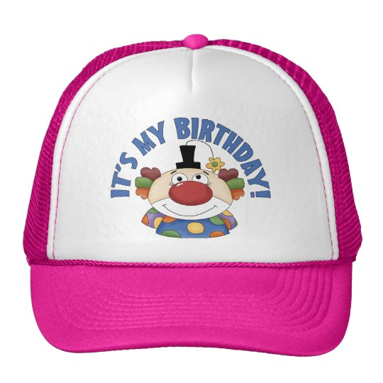 Clown Birthday Trucker Hat