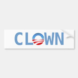 Clown Bumper Sticker
