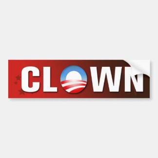 Clown Bumper Sticker Car Bumper Sticker