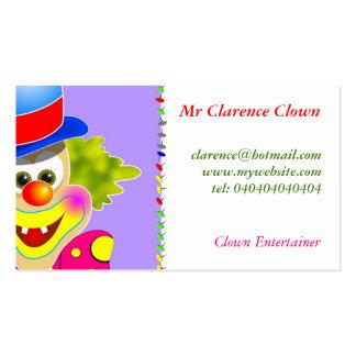 Clown Business Card Template