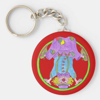 Clown Capers Keychain