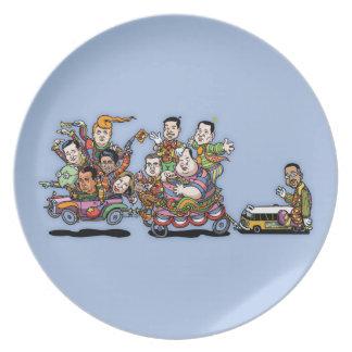 Clown Car '15 II Dinner Plate