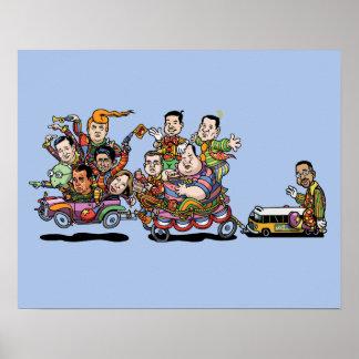 Clown Car '15 II Poster