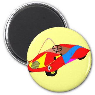 clown car 2 inch round magnet