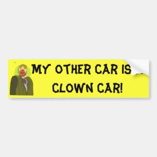 Clown Car Bumper Sticker