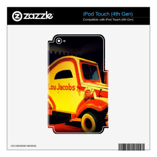 Clown Car Decals For iPod Touch 4G