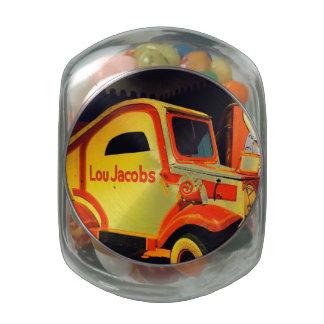 Clown Car Glass Candy Jars