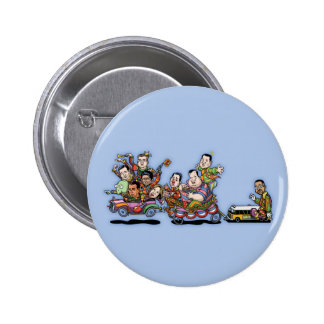 Clown Car May'15 II 2 Inch Round Button