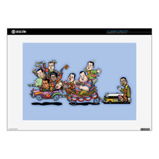 Clown Car May'15 II Skins For Laptops