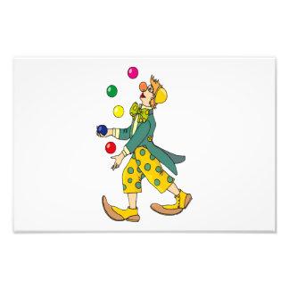 Clown cartoon photograph