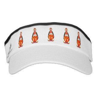 Clown cartoon visor