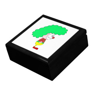 Clown Cartoon Yellow red and green Gift Boxes