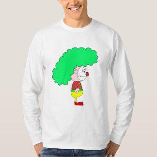 Clown Cartoon. Yellow, red and green. T-Shirt