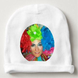 clown circus rainbow jester baby beanie