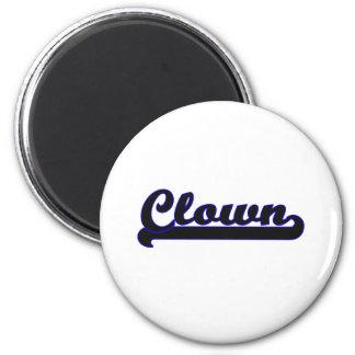 Clown Classic Job Design 2 Inch Round Magnet