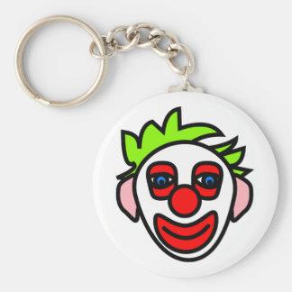 clown clown face face keychain