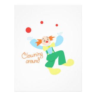 Clown_ClowninAround Membrete