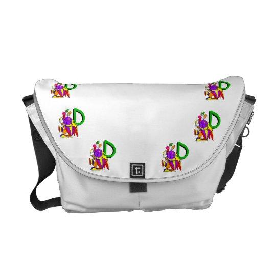 Clown D.png Messenger Bag