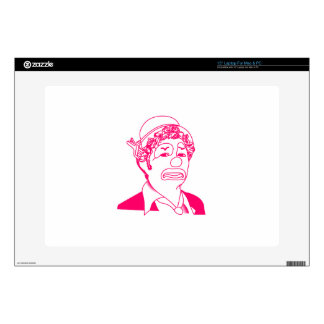"""Clown Decals For 15"""" Laptops"""