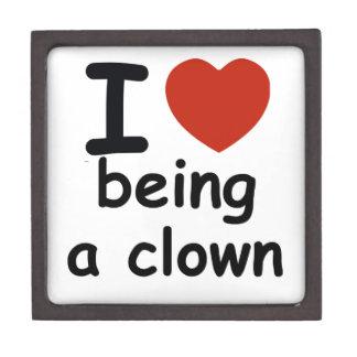 clown design jewelry box