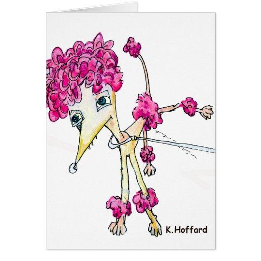 """""""Clown Dog"""" Card"""