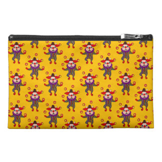 Clown Dog Frenchie entertains you with his love Travel Accessory Bag