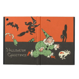 Clown Dog Witch Bat Black Cat Skeleton iPad Air Case