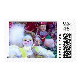 clown dolls postage