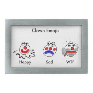 Clown Emojis Belt Buckle