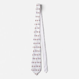 Clown Emojis Neck Tie
