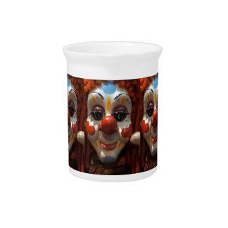 Clown Face Beverage Pitcher