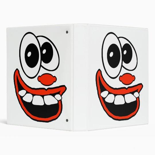 Clown Face Binder