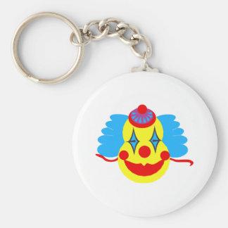 Clown Face Goofy Keychains