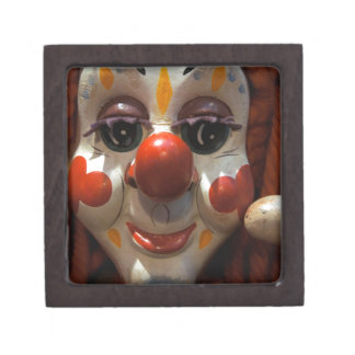 Clown Face Jewelry Box
