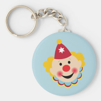 Clown Face Keychain