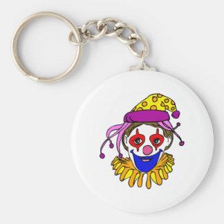 Clown Face Key Chains