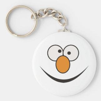 Clown face keychains