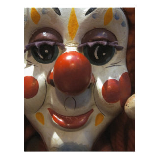 Clown Face Letterhead