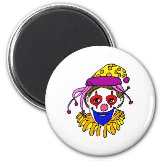 Clown Face Magnet